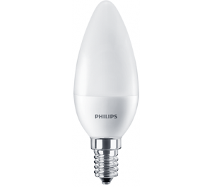 Żarówka LED 7-60W CorePro candle ND 7-60W E14 827 B38 FR 929001325102 Philips